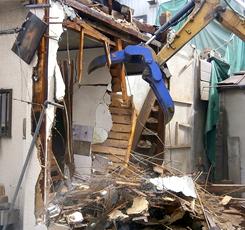 木造住宅 解体工事