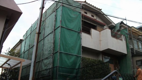 豊中市上新田 解体工事
