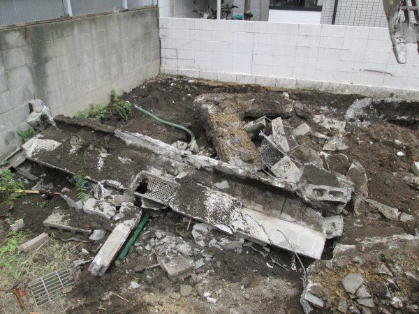 尼崎市北大物町 解体工事