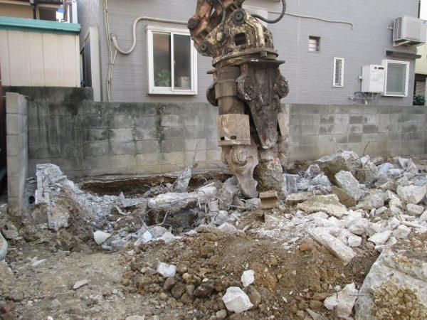 西宮市浜甲子園 解体工事