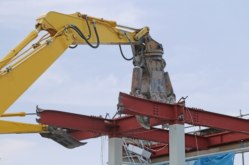 鉄骨造り解体工事