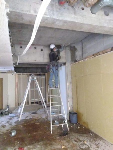 大阪市中央区 ホテル内装解体工事 (地下)