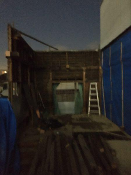 木造2住宅解体工事
