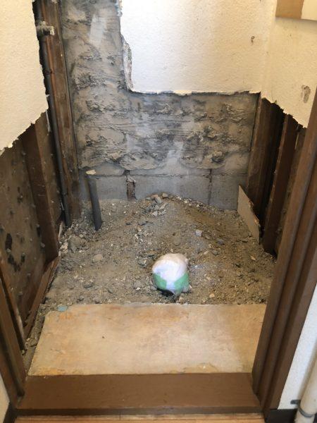 トイレ・風呂場 内装解体