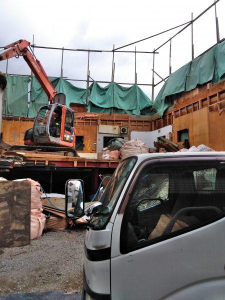 東大阪市末広町 木造解体12日目