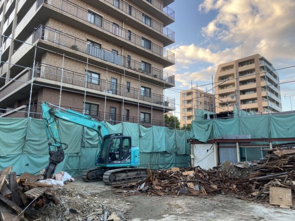 西宮市工場解体工事